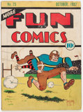 Platinum Age (1897-1937):Miscellaneous, More Fun Comics #25 (DC, 1937) Condition: PR....