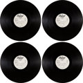 Music Memorabilia:Recordings, Beatles Best of the Beatles Rare LP Stereo Acetates (Two) for an Unreleased Album (Capitol 46934-41, 1964). ... (Total: 2 Items)