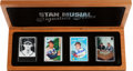 """Autographs:Sports Cards, Signed Stan Musial """"Signature Series"""" Ceramic Boxed Set. ..."""