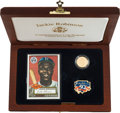 Baseball Collectibles:Others, 1997 Jackie Robinson 50th Anniversary Commemorative Coin InPresentation Box. ...