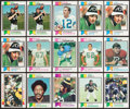 Football Cards:Lots, 1973 Topps Football High Grade Collection (650). ...