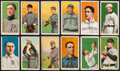 "Baseball Cards:Lots, 1909-11 T206 White Borders Tobacco Collection (12) With HoFers and""Old Mill"" Southern Leaguers. ..."