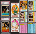 Basketball Cards:Lots, 1969 & 1973 Topps Basketball Collection (95). ...