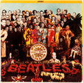 Music Memorabilia:Recordings, Beatles Ultra Rare Album Cover Sgt. Pepper's Lonely Hearts ClubBand (Capitol SMAS 2653, 1967). ... (Total: 3 Items)