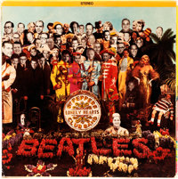 Beatles Ultra Rare Album Cover Sgt. Pepper's Lonely Hearts Club Band (Capitol SMAS 2653, 196
