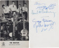 Music Memorabilia:Autographs and Signed Items, Beatles Autographed Parlophone Promo Photo (1963)....