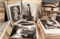 Other:European, GROUP OF EIGHT DOSSIERS OF RENOIR'S PORTRAIT PAINTINGS. THE RENOIRCOLLECTION. ... (Total: 8 Items)