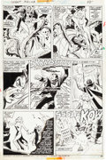 Original Comic Art:Panel Pages, Don Heck and Frank McLaughlin Giant-Size Dracula #2 Page 38 Original Art (Marvel, 1974)....