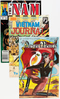 Modern Age (1980-Present):Miscellaneous, Comic Books - Assorted Modern Age War Comics Group (Various Publishers, 1980s-2000s) Condition: FN/VF....