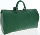 Louis Vuitton Green Epi Leather Keepall 50 Weekender Overnight Bag The perfect weekend getaway bag. The famous Keepall f...