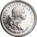 Patterns, 1870 10C Standard Silver Ten Cents, Judd-854, Pollock-962, High R.7, PR65 Cameo PCGS. CAC....