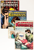 Golden Age (1938-1955):Romance, Glamorous Romances Group (Ace, 1949-56) Condition: Average VF....(Total: 19 Comic Books)