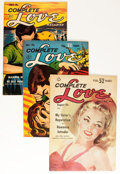 Golden Age (1938-1955):Romance, Complete Love Magazine Group (Ace, 1952-56) Condition: AverageFN/VF.... (Total: 10 Comic Books)