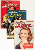 Golden Age (1938-1955):Romance, Complete Love Magazine Group (Ace, 1952-56) Condition: AverageVG/FN.... (Total: 11 Comic Books)