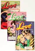 Golden Age (1938-1955):Romance, Love Experiences Group (Ace, 1951-56) Condition: Average FN....(Total: 21 Comic Books)