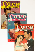 Golden Age (1938-1955):Romance, Love at First Sight Group (Ace, 1953-56) Condition: Average FN....(Total: 10 Comic Books)