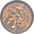 Patterns, 1854 P1C One Cent, Judd-161 Original, Pollock-187, R.4, PR61 Red and Brown ANACS....