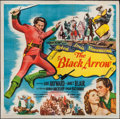 "Movie Posters:Adventure, The Black Arrow (Columbia, 1948). Six Sheet (79"" X 80"").Adventure.. ..."