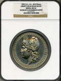 Expositions and Fairs, 1892 World's Columbian Exposition, Liberty Head High Relief MS62NGC. Eglit-101. White metal, 90 mm....