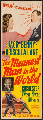 "The Meanest Man in the World (20th Century Fox, 1943). Insert (14"" X 36""). Comedy"