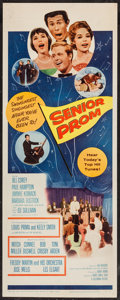 "Movie Posters:Musical, Senior Prom (Columbia, 1958). Insert (14"" X 36""). Musical.. ..."