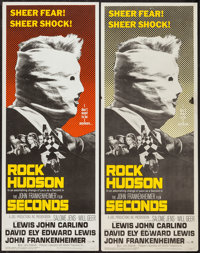 """Seconds (Paramount, 1966). Inserts (2) (14"""" X 36"""") Two Styles. Thriller. ... (Total: 2 Items)"""