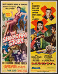 """Movie Posters:Mystery, The Shanghai Story & Other Lot (Republic, 1954). Inserts (2)(14"""" X 36""""). Mystery.. ... (Total: 2 Items)"""