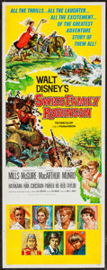 "Movie Posters:Adventure, Swiss Family Robinson (Buena Vista, 1960). Insert (14"" X 36"").Adventure.. ..."