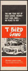 "Movie Posters:Exploitation, T-Bird Gang (Film Group, 1959). Insert (14"" X 36""). Exploitation....."