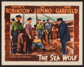 "Movie Posters:Adventure, The Sea Wolf (Warner Brothers, 1941). Lobby Card (11"" X 14"").Adventure.. ..."
