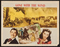 "Movie Posters:Academy Award Winners, Gone with the Wind (MGM, R-1947). Lobby Card (11"" X 14""). AcademyAward Winners.. ..."