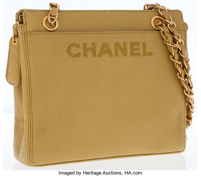 6fe30bf3c6c49a Chanel Mustard Caviar Leather Shoulder Bag. ... Luxury Accessories ...