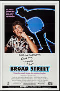 """Movie Posters:Rock and Roll, Give My Regards to Broad Street (20th Century Fox, 1984). One Sheet(27"""" X 41""""). Rock and Roll.. ..."""