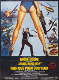 """Movie Posters:James Bond, For Your Eyes Only (United Artists, R-1985). French Grande (45.5"""" X 62""""). James Bond.. ..."""