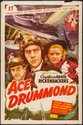 """Movie Posters:Serial, Ace Drummond (Filmcraft, R-1940s). One Sheet (27"""" X 41""""). Serial.. ..."""