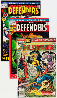 Defenders-Related Group (Marvel, 1972-76) Condition: Average FN/VF.... (Total: 6 Comic Books)