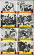 "Movie Posters:Western, Fistful of Dollars/For a Few Dollars More Combo (United Artists, R-1969). Lobby Card Set of 8 (11"" X 14""). Western.. ... (Total: 8 Items)"