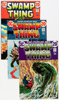 Bronze Age (1970-1979):Horror, Swamp Thing Group (DC, 1972-80) Condition: Average FN/VF....(Total: 15 Comic Books)