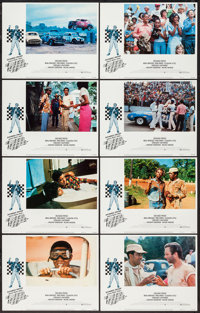"""Greased Lightning (Warner Brothers, 1977). Lobby Card Set of 8 (11"""" X 14""""). Sports. ... (Total: 8 Items)"""