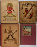 Books:Children's Books, [Children's]. Group of Four. Various publishers, ca. 1900. Bright,full color illustrations in all. Includes illus... (Total: 4 Items)