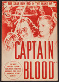 """Movie Posters:Adventure, Captain Blood (Warner Brothers, 1935). Herald (8.75"""" X 6"""" closed -8.75"""" X 11.75"""" opened). Adventure.. ..."""