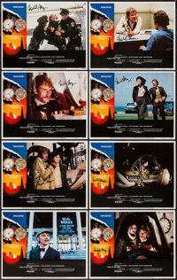 "Time After Time (Warner Brothers, 1979). Autographed Lobby Card Set of 8 (11"" X 14""). Science Fiction. ... (To..."