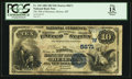 National Bank Notes:Montana, Helena, MT - $10 1882 Date Back Fr. 545 The NB of Montana Ch. # (W)5671. ...