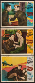 "Movie Posters:Action, Young Eagles (Paramount, 1930). Lobby Cards (3) (11"" X 14"").Action.. ... (Total: 3 Items)"