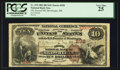 National Bank Notes:Maine, Skowhegan, ME - $10 1882 Brown Back Fr. 479 The Second NB Ch. #298. ...