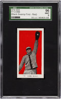 "Baseball Cards:Singles (Pre-1930), 1910 E98 ""Set of 30"" Ty Cobb Red Background SGC 96 Mint 9 from""The Black Swamp Find.""..."