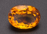 Unmounted Citrine