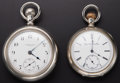 Timepieces:Pocket (post 1900), Two Elgin Running Pocket Watches. ... (Total: 2 Items)