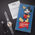 Timepieces:Wristwatch, 1939 Ingersoll Mickey Mouse Wristwatch. ...