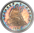 Seated Quarters, 1891-O 25C Specimen 66 NGC. ...
